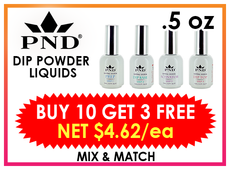 PND Dip Liquid 0.5 oz - BUY 10 GET 3 FREE (Mix & Match)