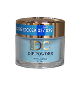 DND DC Dipping Powder - #029  BLUE TINT