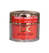 DND DC Dipping Powder - #068  LAVA RED