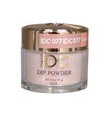 DND DC Dipping Powder - #077  STRAWBERRY LATTE