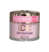 DND DC Dipping Powder - #131  WHITE MAGENTA