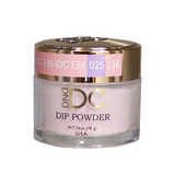 DND DC Dipping Powder - #136  GERANIUM PINK
