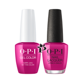 OPI Duo - GCT83 + NLT83 - Hurry-juku Get This Color! .5 oz