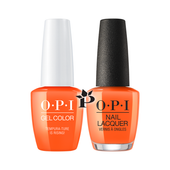 OPI Duo - GCT89 + NLT89 - Tempura-ture is Rising! .5 oz