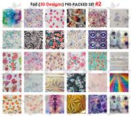WaveGel Foil - 30 Pre-Packed Foil Designs #2  - GET 1 FREE BLINK GEL