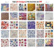 WaveGel Foil - 30 Pre-Packed Foil Designs #4  - GET 1 FREE BLINK GEL