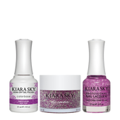 Kiara Sky 3in1(GEL+LQ+Dip) - #430 PURPLE SPARK