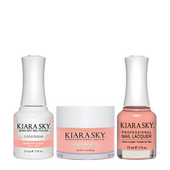 Kiara Sky 3in1(GEL+LQ+Dip) - #490 ROMANTIC CORAL