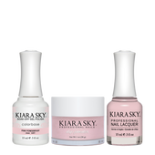 Kiara Sky 3in1(GEL+LQ+Dip) - #491 PINK POWDERPUFF