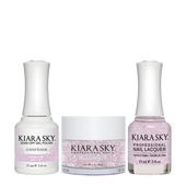 Kiara Sky 3in1(GEL+LQ+Dip) - #497 SWEET PLUM (GLITTER)