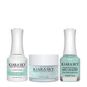 Kiara Sky 3in1(GEL+LQ+Dip) - #500 YOUR MAJESTY (GLITTER)