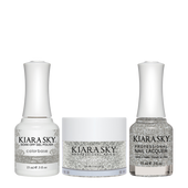Kiara Sky 3in1(GEL+LQ+Dip) - #501 KNIGHT (GLITTER)