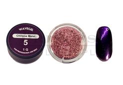 WaveGel Chrome Metal Powder 1g - #05 Violet