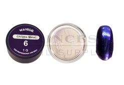 WaveGel Chrome Metal Powder 1g - #06 Purple