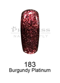 DND DC Platinum Gel - 183 Burgundy Platinum .6 oz
