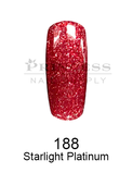 DND DC Platinum Gel - 188 Starlight Platinum .6 oz