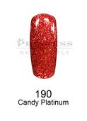 DND DC Platinum Gel - 190 Candy Platinum .6 oz