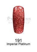 DND DC Platinum Gel - 191 Imperial Platinum .6 oz