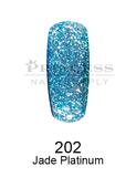 DND DC Platinum Gel - 202 Jade Platinum .6 oz
