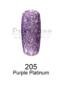DND DC Platinum Gel - 205 Purple Platinum .6 oz