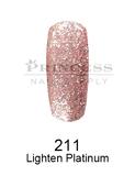 DND DC Platinum Gel - 211 Lighten Platinum .6 oz