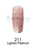 DND DC Platinum Gel - 211 Lighten Platinum .6 oz