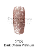 DND DC Platinum Gel - 213 Dark Charm Platinum .6 oz