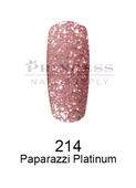 DND DC Platinum Gel - 214 Paparazzi Platinum .6 oz
