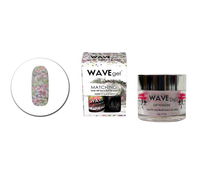 Wavegel 3in1 Matching (GEL+LACQUER+DIP) - #107(WG107) NOW IT'S A PARTY