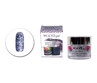Wavegel 3in1 Matching (GEL+LACQUER+DIP) - #134(WG134) PURFICTION