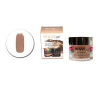 Wavegel 3in1 Matching (GEL+LACQUER+DIP) - #136(WG136) GINGER ALE