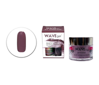 Wavegel 3in1 Matching (GEL+LACQUER+DIP) - #157(W157) RASPBERRY GLAXE