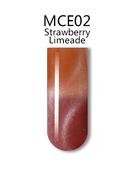iGel 3D Mood Cat Eye Gel Polish - #MCE02 Strawberry Limeade .5 oz