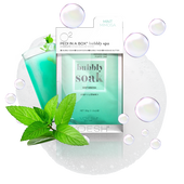 Voesh - Pedi in a Box - 4 Step O2 Bubbly Soak Spa - Mint Mimosa (VPC307MMS)