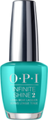OPI Infinite Shine - #ISLN74 Dance Party 'Teal Dawn - Neon 2019 Collection .5 oz