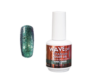 WaveGel Titanium Color Gel - #15 Sonic Green .5 oz