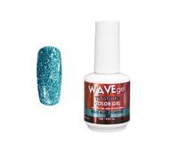 WaveGel Titanium Color Gel - #18 Wild Blue Yonder .5 oz