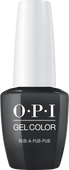 OPI GelColor - #GCU18 Rub-a-Pub-Pub - Scotland Collection .5 oz