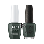 OPI Duo - GCU15 + NLU15 - Things I've Seen in Aber-Green .5 oz