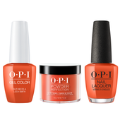 OPI COMBO 3 in 1 Matching - GCU14-NLU14-DPU13 Suzi Needs a Loch-Smith