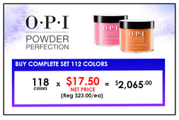 OPI DIP 1.5oz : Pre-packed 118 colors (NET $17.50)