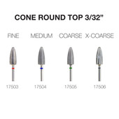 PND Carbide Bit - Cone Round Top 3/32""