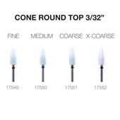 """PND Ceramic Bit - Cone Rounded Top 3/32"""""""