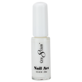 Cre8tion Nail Art Lacquer - Thin Detailer  - 02 White .33 oz