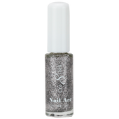 Cre8tion Nail Art Lacquer - Thin Detailer  - 03 Silver .33 oz