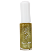 Cre8tion Nail Art Lacquer - Thin Detailer  - 04 Gold .33 oz