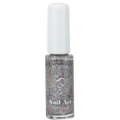 Cre8tion Nail Art Lacquer - Thin Detailer  - 05 Holo Multi-Color .33 oz