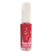 Cre8tion Nail Art Lacquer - Thin Detailer  - 07 Red Glitter .33 oz
