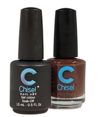 Chisel Matching Gel + Lacquer .5 oz - SOLID 6