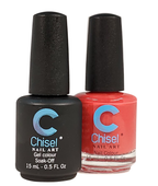 Chisel Matching Gel + Lacquer .5 oz - SOLID 16